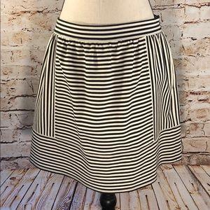 Madewell Ponte Swivel Skirt